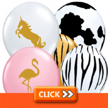 Themed Latex Balloons